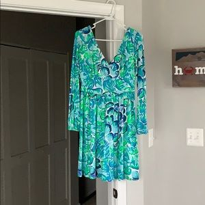 Oyster print Lilly Pulitzer dress